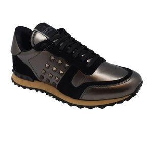 New! Men's Valentino Garavani Rockstud Sneakers